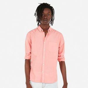 Slim Button-Down Soft Wash Shirt - NWT